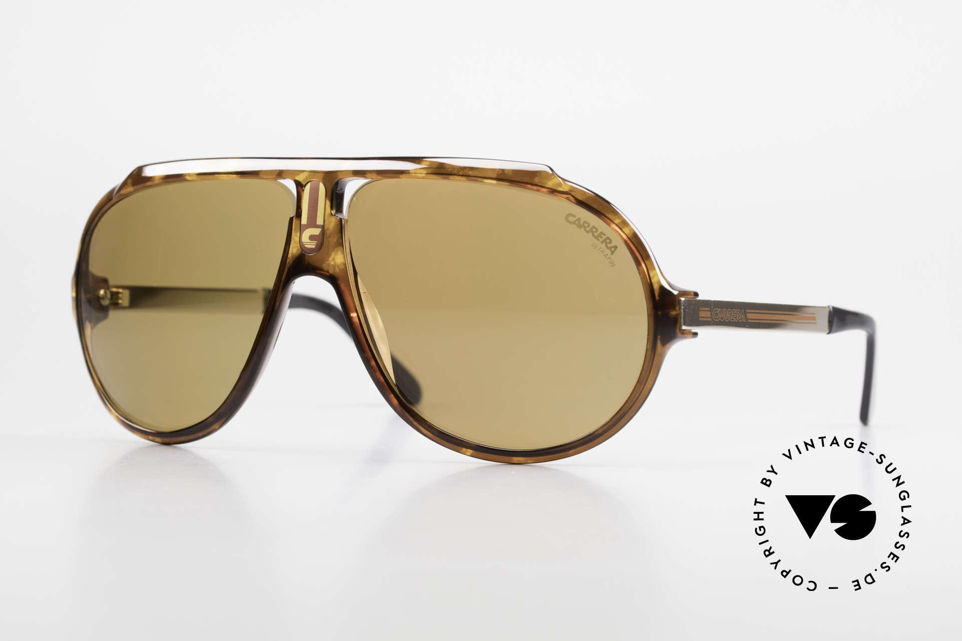 Carrera 5512 Polarized UltraPol Sun Lenses, legendary 1980's vintage CARRERA designer sunglasses, Made for Men