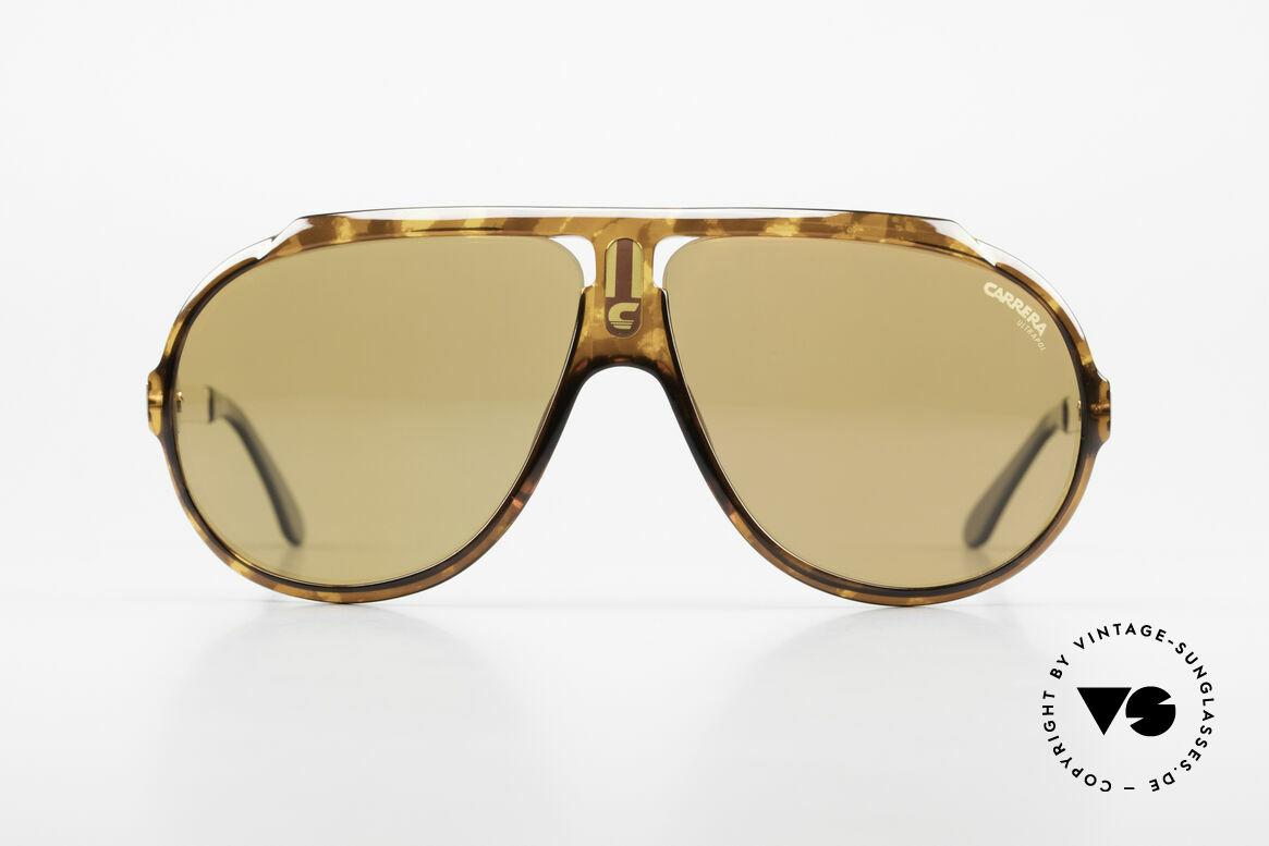 Carrera 5512 Polarized UltraPol Sun Lenses, famous movie sunglasses from 1984 (a true legend !!!), Made for Men