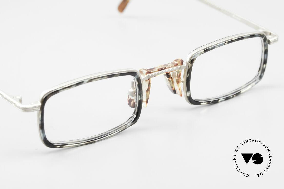 Freudenhaus Jedi Square 90's Designer Frame, unworn (like all our rare vintage designer eyeglasses), Made for Men and Women