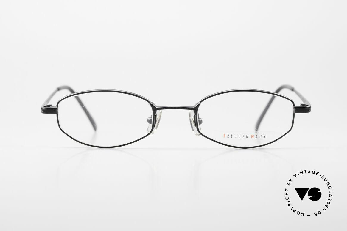 Freudenhaus Ita Titanium Frame With Sun Clip, Size: medium, Made for Men and Women