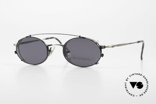 Freudenhaus Zaki Small Oval Frame With Clip On Details