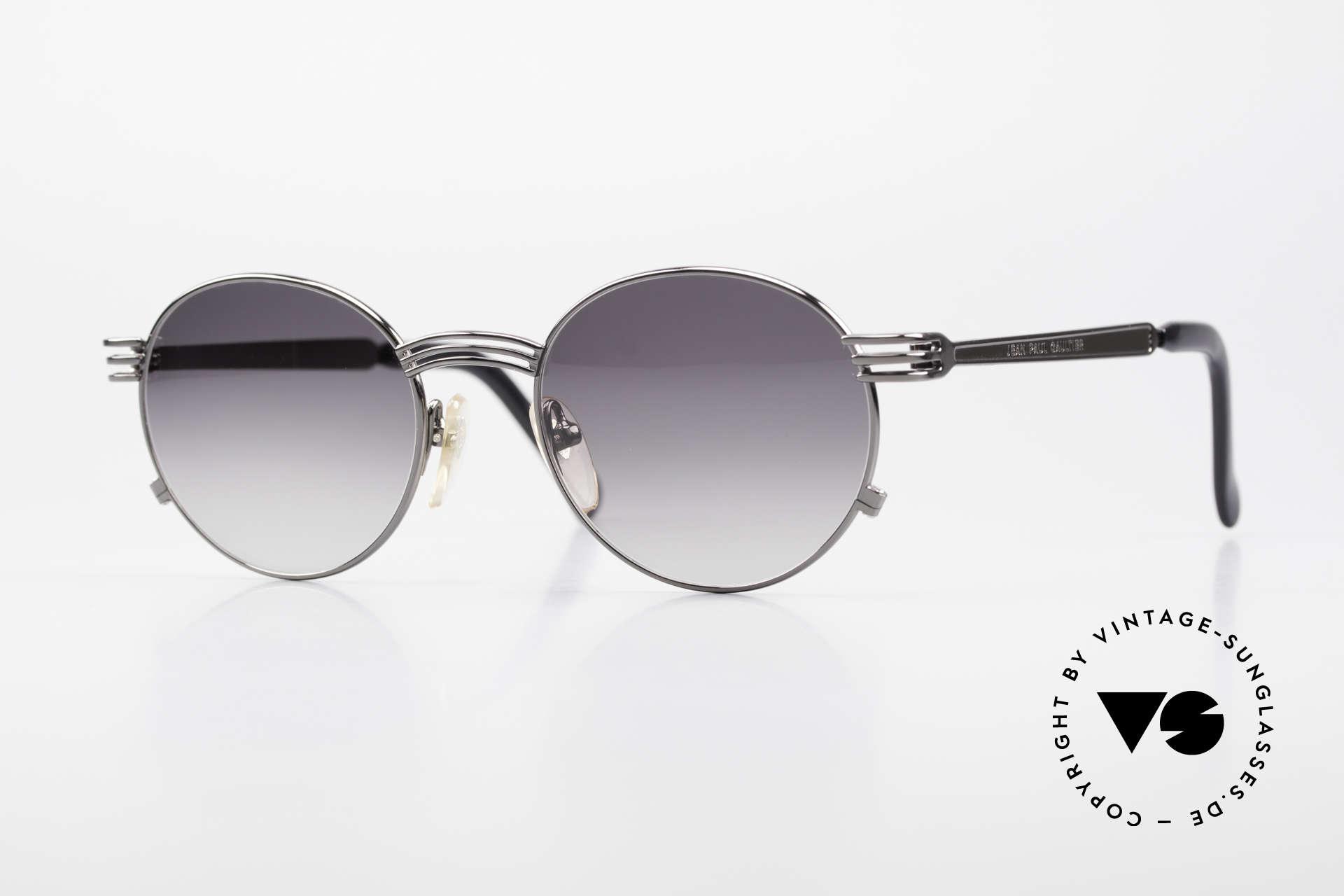 Jean Paul Gaultier 55-3174 Designer Vintage 90's Glasses, valuable & creative Jean Paul Gaultier designer glasses, Made for Men and Women