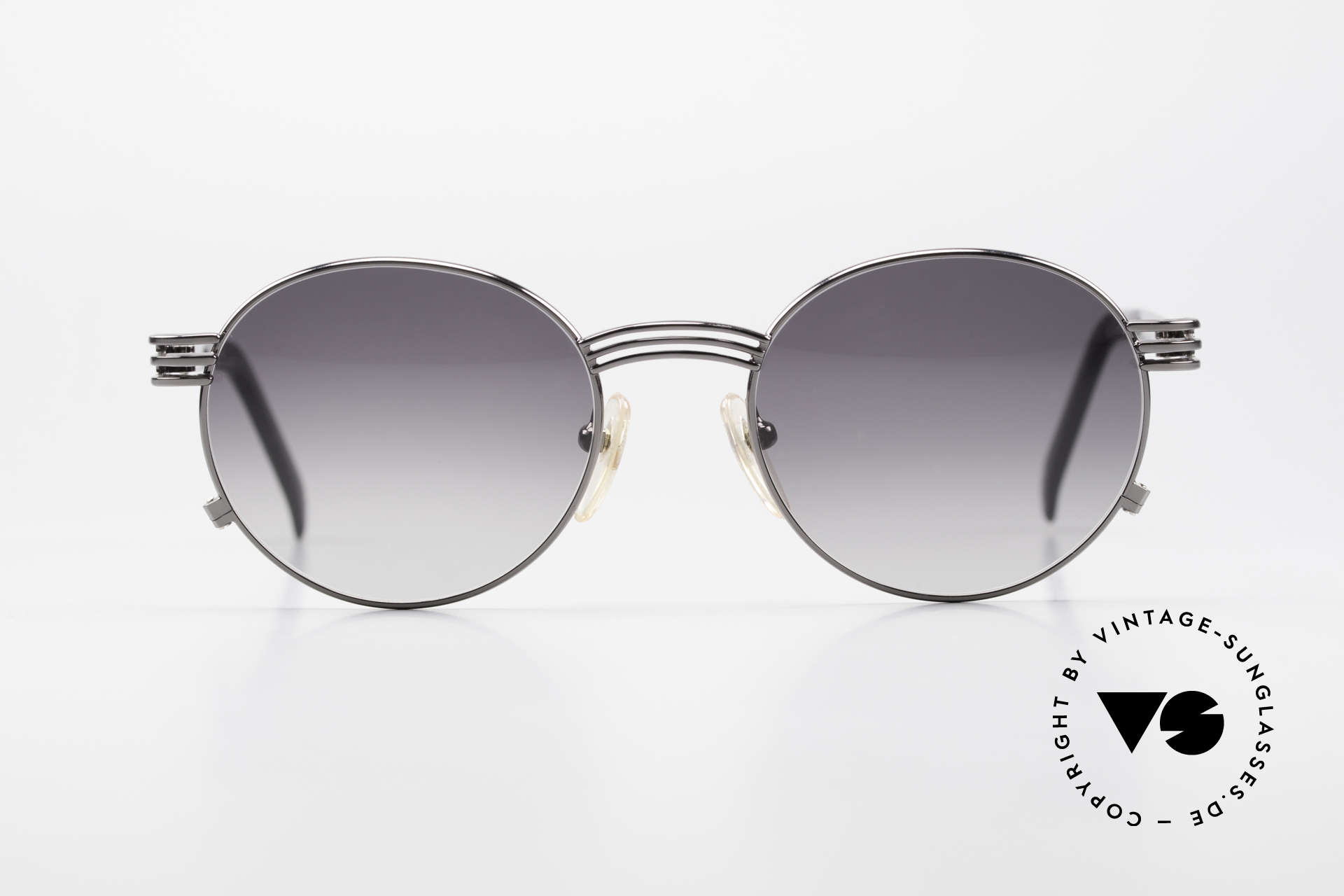 Jean Paul Gaultier 55-3174 Designer Vintage 90's Glasses, the temples are shaped like a fork (typically unique JPG), Made for Men and Women
