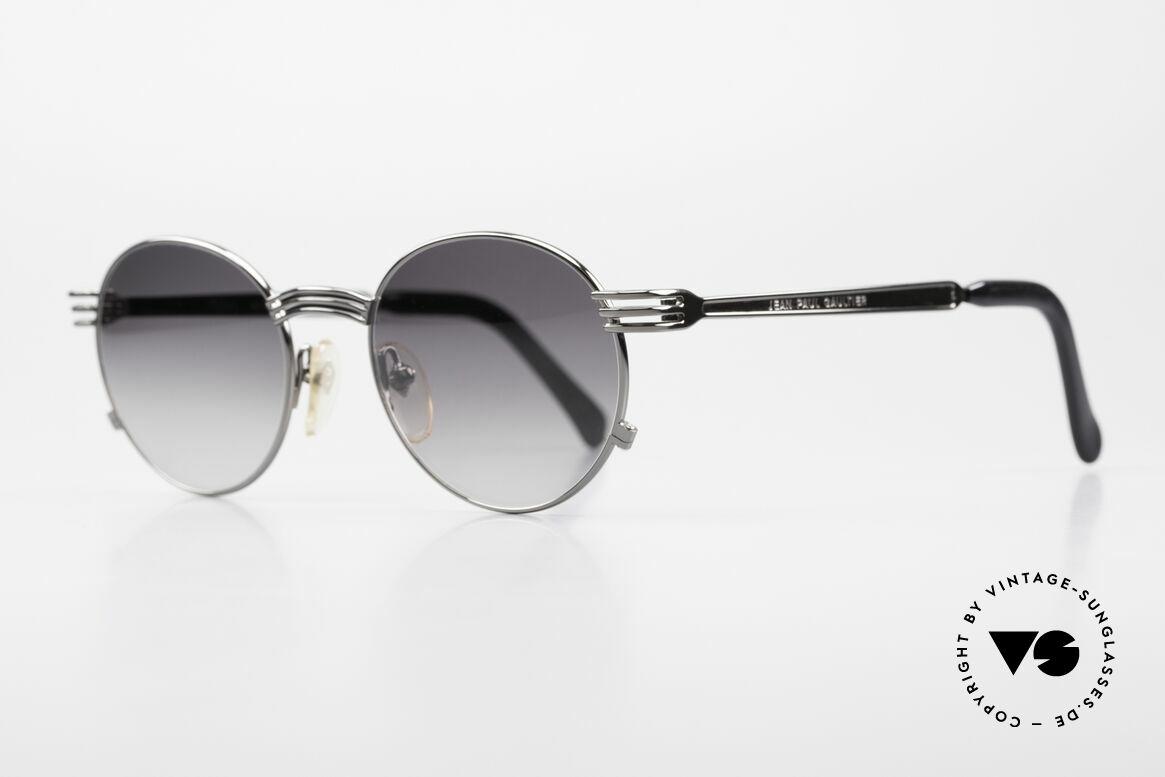 Jean Paul Gaultier 55-3174 Designer Vintage 90's Glasses, tangible top-notch craftsmanship; frame made in Japan, Made for Men and Women