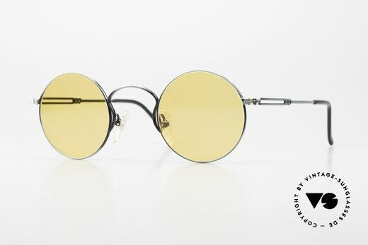 Jean Paul Gaultier 55-0172 Round 90's Vintage Glasses JPG Details