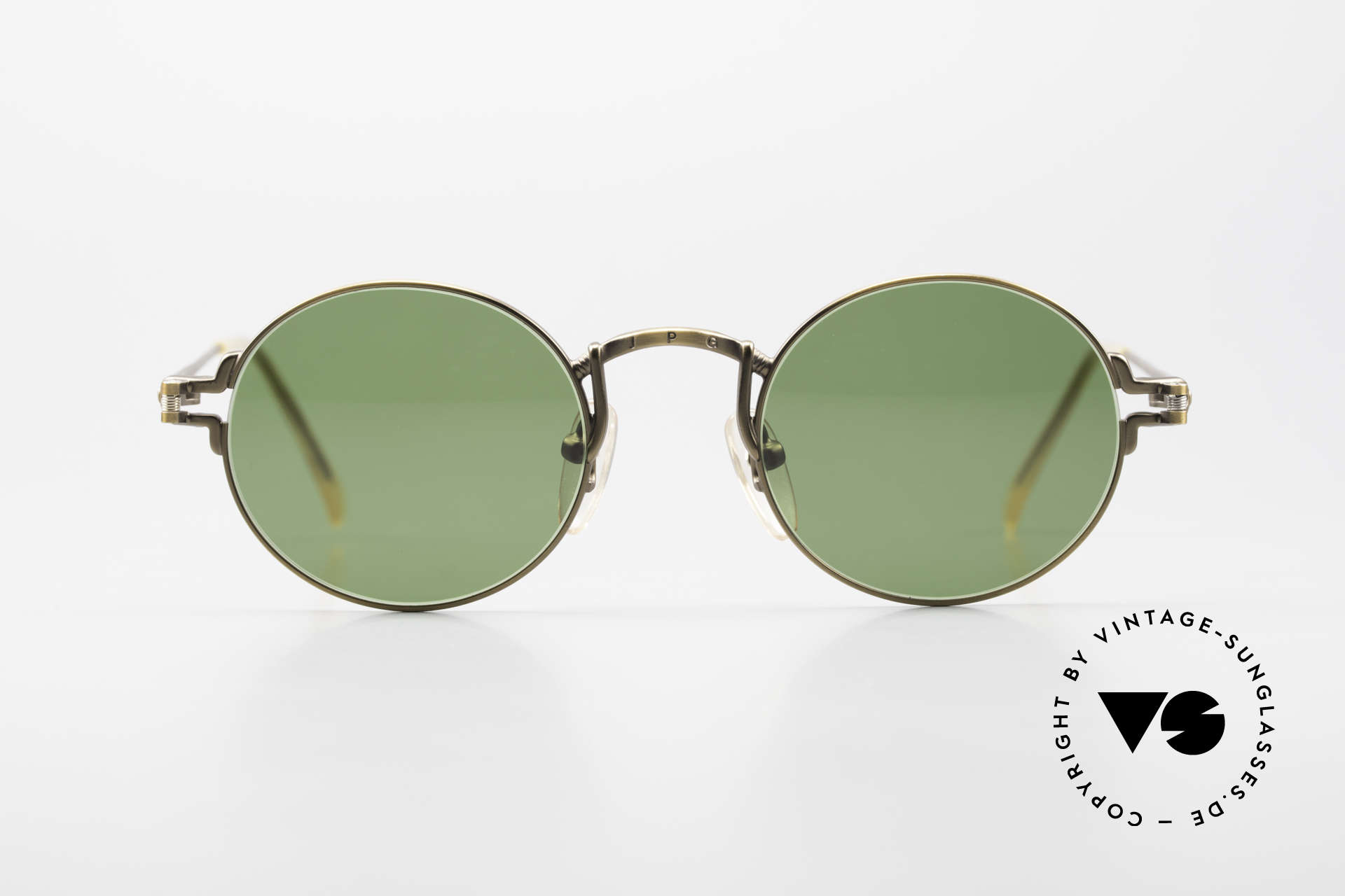 Jean Paul Gaultier 55-3171 Round 90's JPG Sunglasses, a kind of 'John Lennon Style' - just a timeless classic, Made for Men and Women