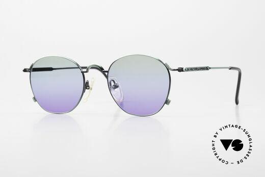 Jean Paul Gaultier 55-0171 90's Panto Designer Sunglasses Details
