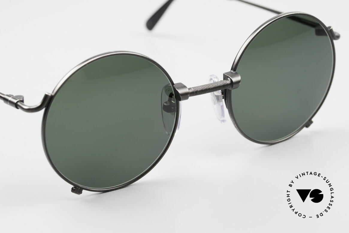 Jean Paul Gaultier 55-7162 Round Vintage Sunglasses 90s, NO retro fashion, but a rare authentic original, Made for Men and Women