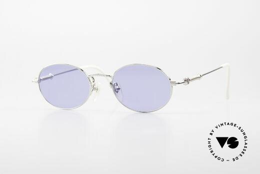 Jean Paul Gaultier 55-6101 Oval Designer Sunglasses 90's Details