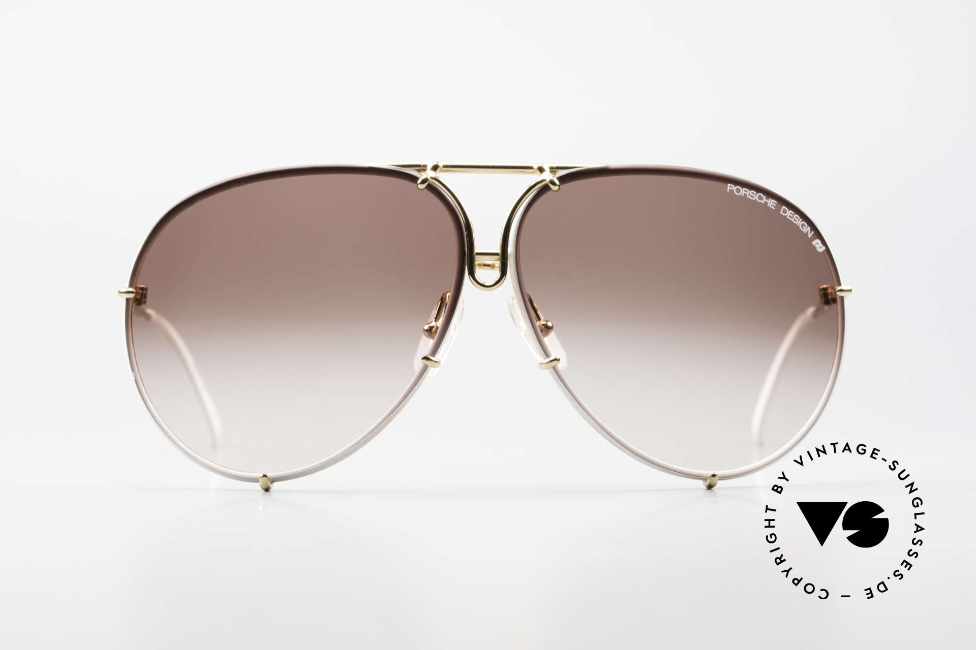 Porsche 5623 Special Edition Vintage Shades, the legendary classic with the interchangeable lenses, Made for Men and Women
