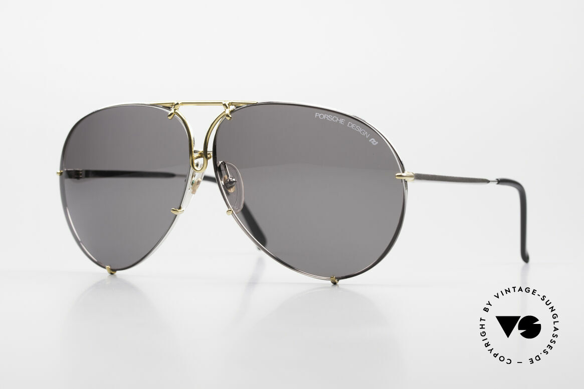 Porsche 5621 Oversized 80's Aviator Shades, model 5621 = 80's LARGE size (X-LARGE, these days), Made for Men and Women