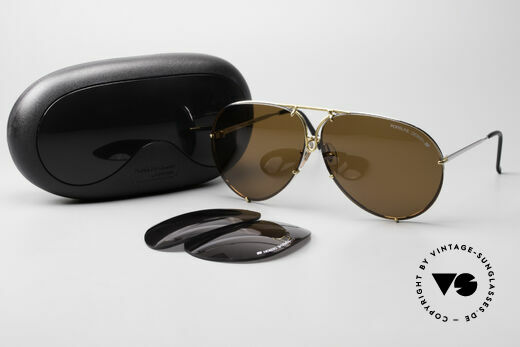 Porsche 5621 Oversized 80's Aviator Shades, model 5623 = 80's SMALL size (MEDIUM size, today), Made for Men and Women