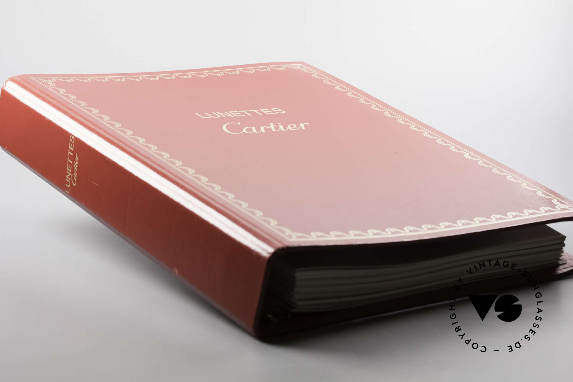 Cartier_ Catalog Cartier Lunettes Eyewear, very old catalog with the first Cartier Series, Made for Men and Women