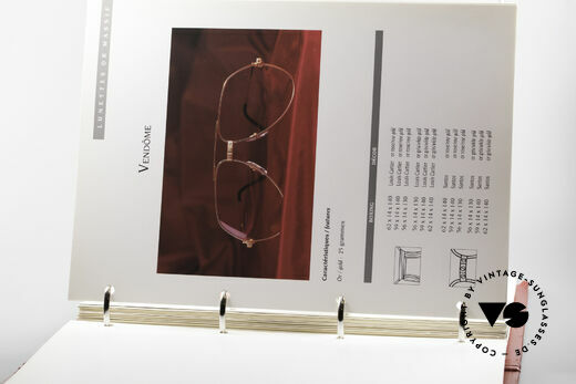 Cartier_ Catalog Cartier Lunettes Eyewear, exciting CARTIER rarity in good used condition, Made for Men and Women