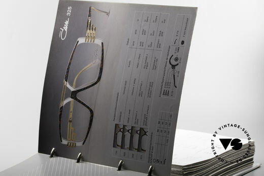 Cazal 0 Catalog Old 80's 90's Cazal Catalogue, true Cazal lovers know the value of this rarity, Made for Men and Women