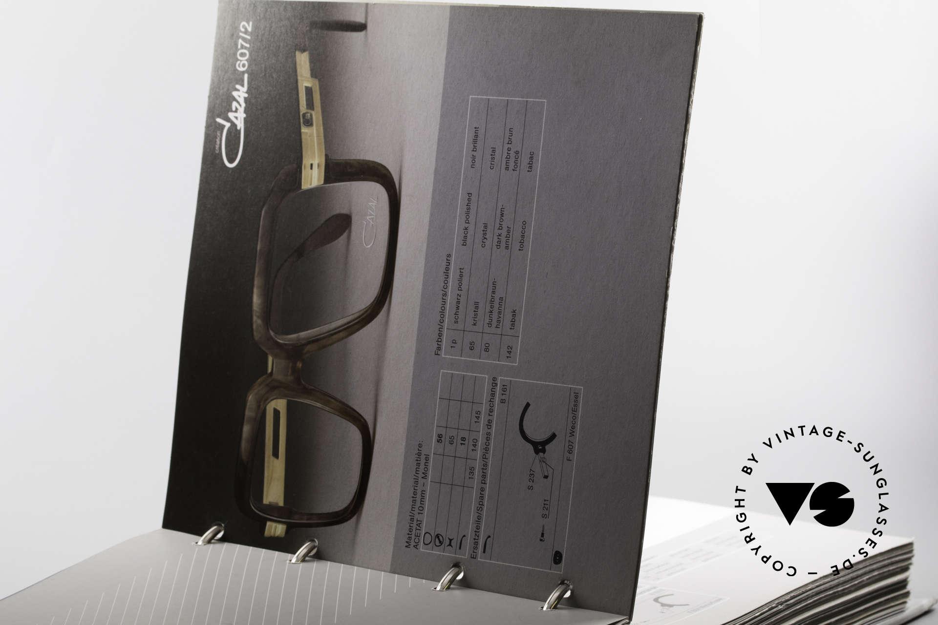 Cazal 0 Catalog Old 80's 90's Cazal Catalogue, Size: extra large, Made for Men and Women