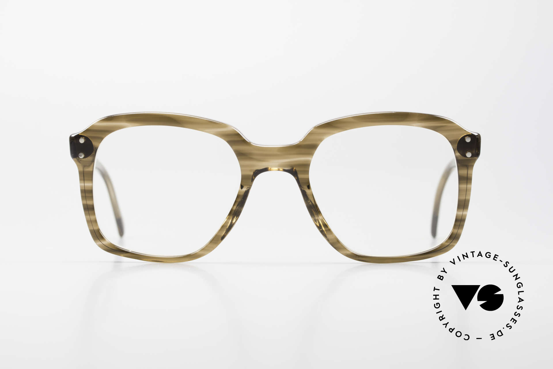Metzler 449 Old 70's Original Nerd Glasses, a true classic at that time - reclaimed nerd style today, Made for Men