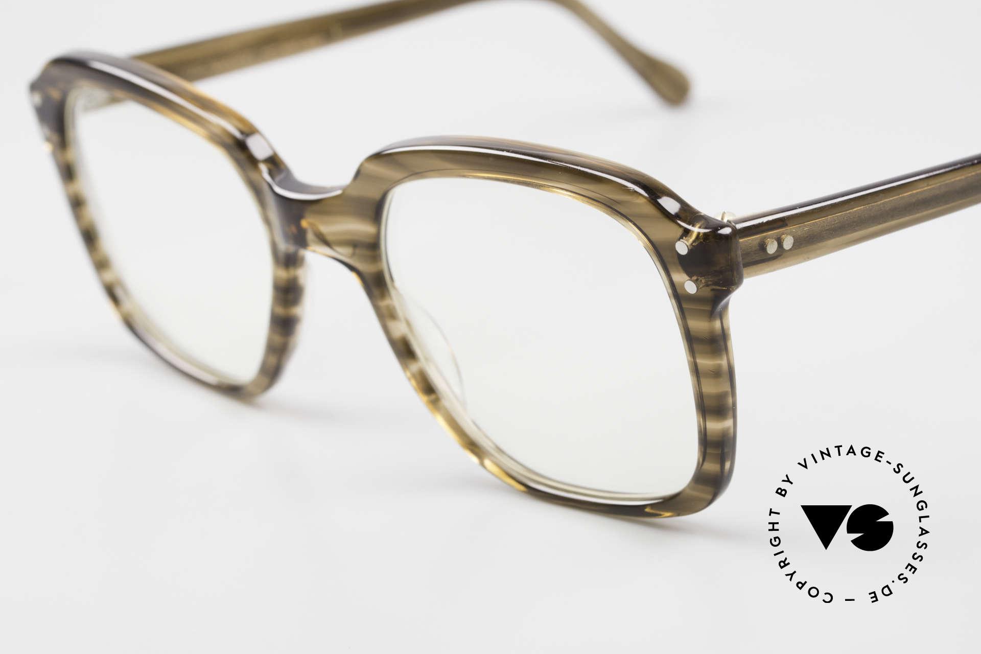 Metzler 449 Old 70's Original Nerd Glasses, never worn (like all our vintage Metzler men's glasses), Made for Men