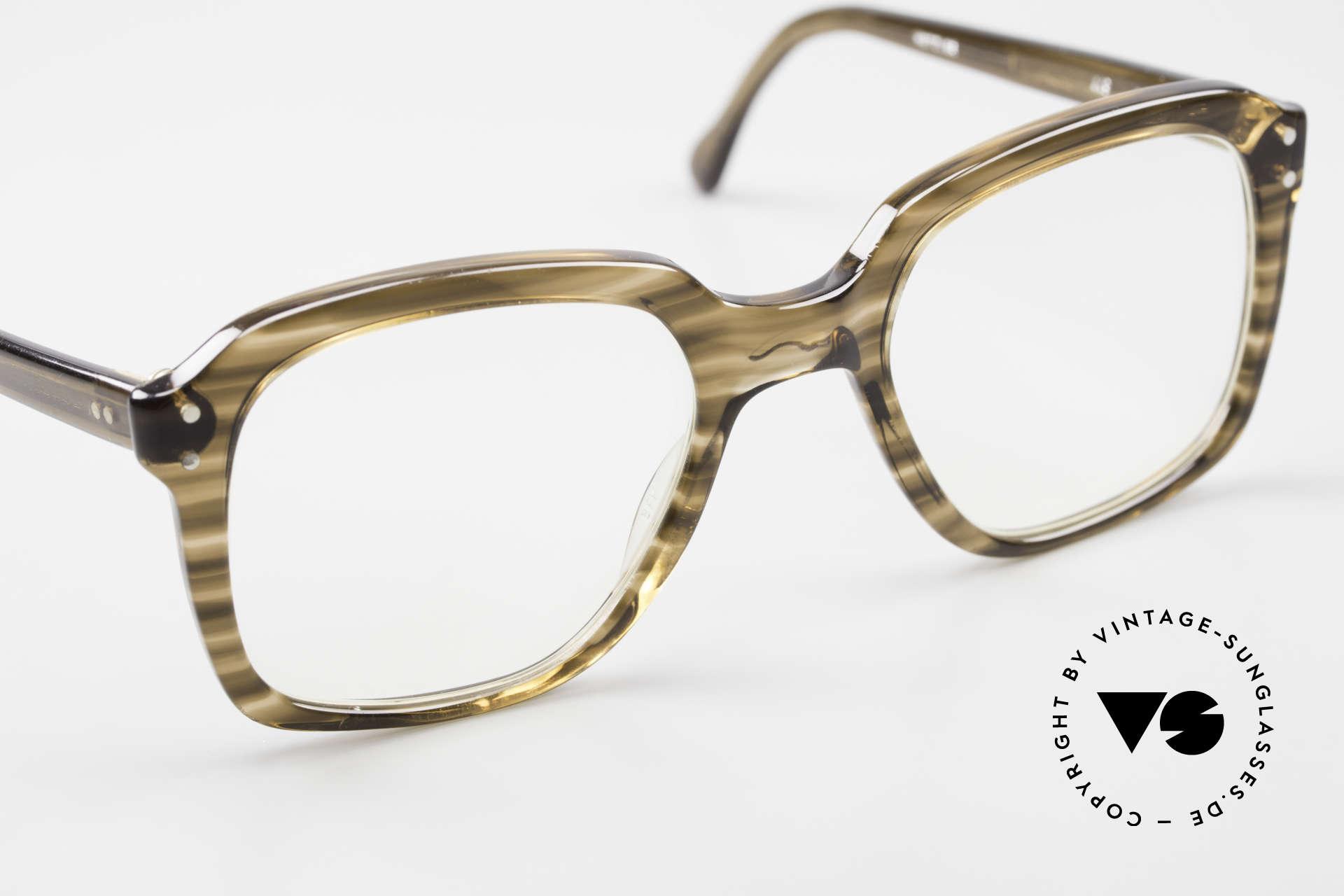 Metzler 449 Old 70's Original Nerd Glasses, the frame is made for lenses of any kind (optical / sun), Made for Men