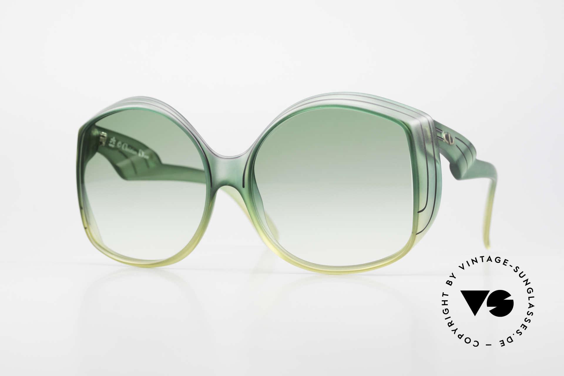 Christian Dior 2041 XXL 1970's Ladies Sunglasses, magical Christian Dior designer sunglasses of the 70's, Made for Women