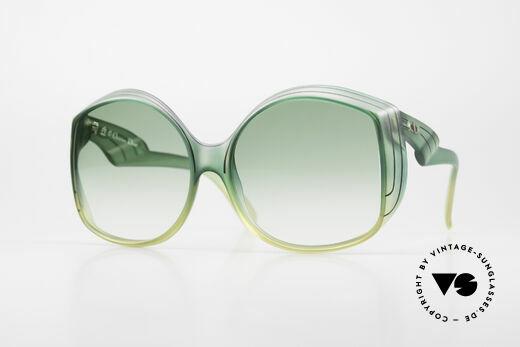 Christian Dior 2041 XXL 1970's Ladies Sunglasses Details