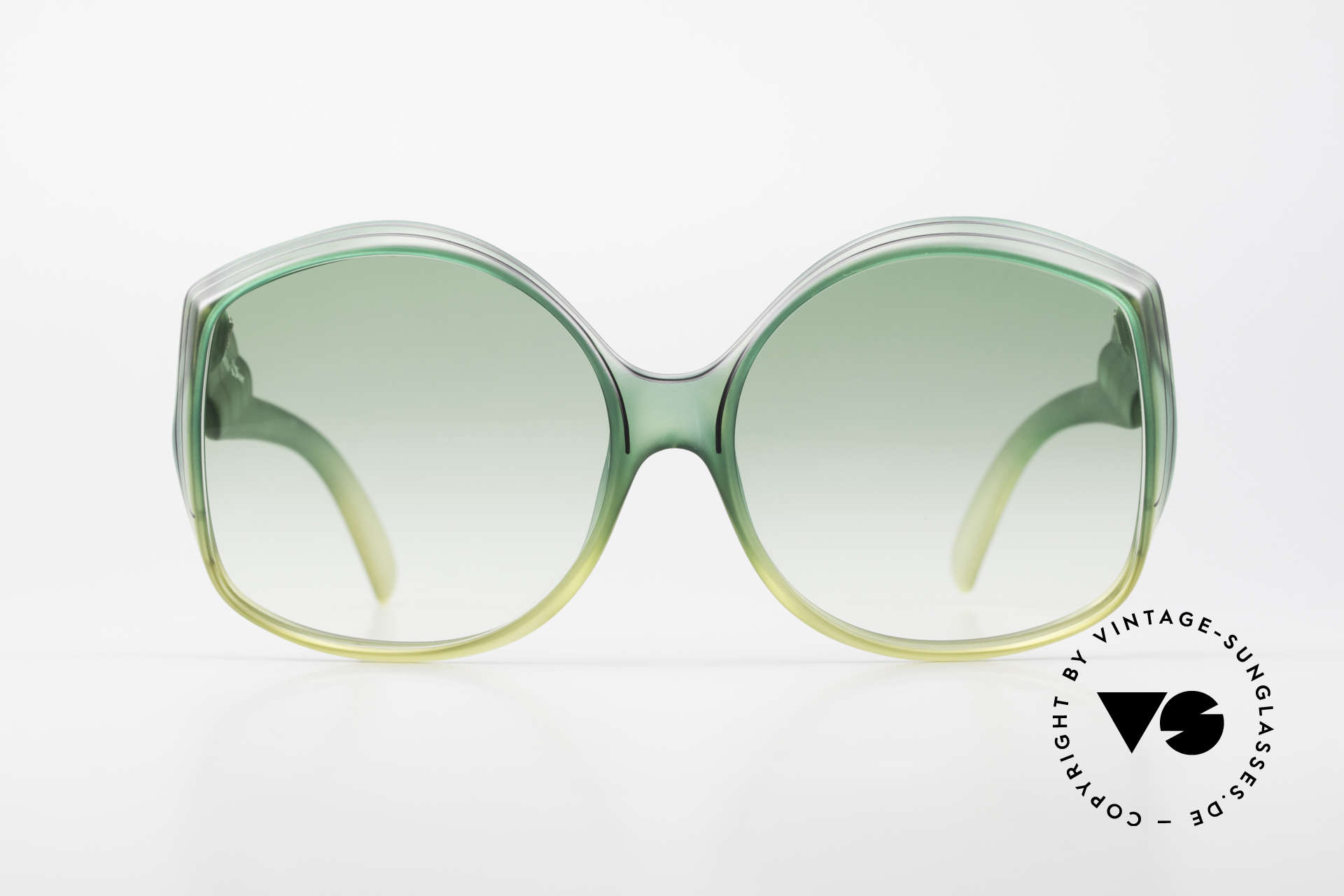 Christian Dior 2041 XXL 1970's Ladies Sunglasses, one of the first sunglass' models by Christian Dior, ever, Made for Women