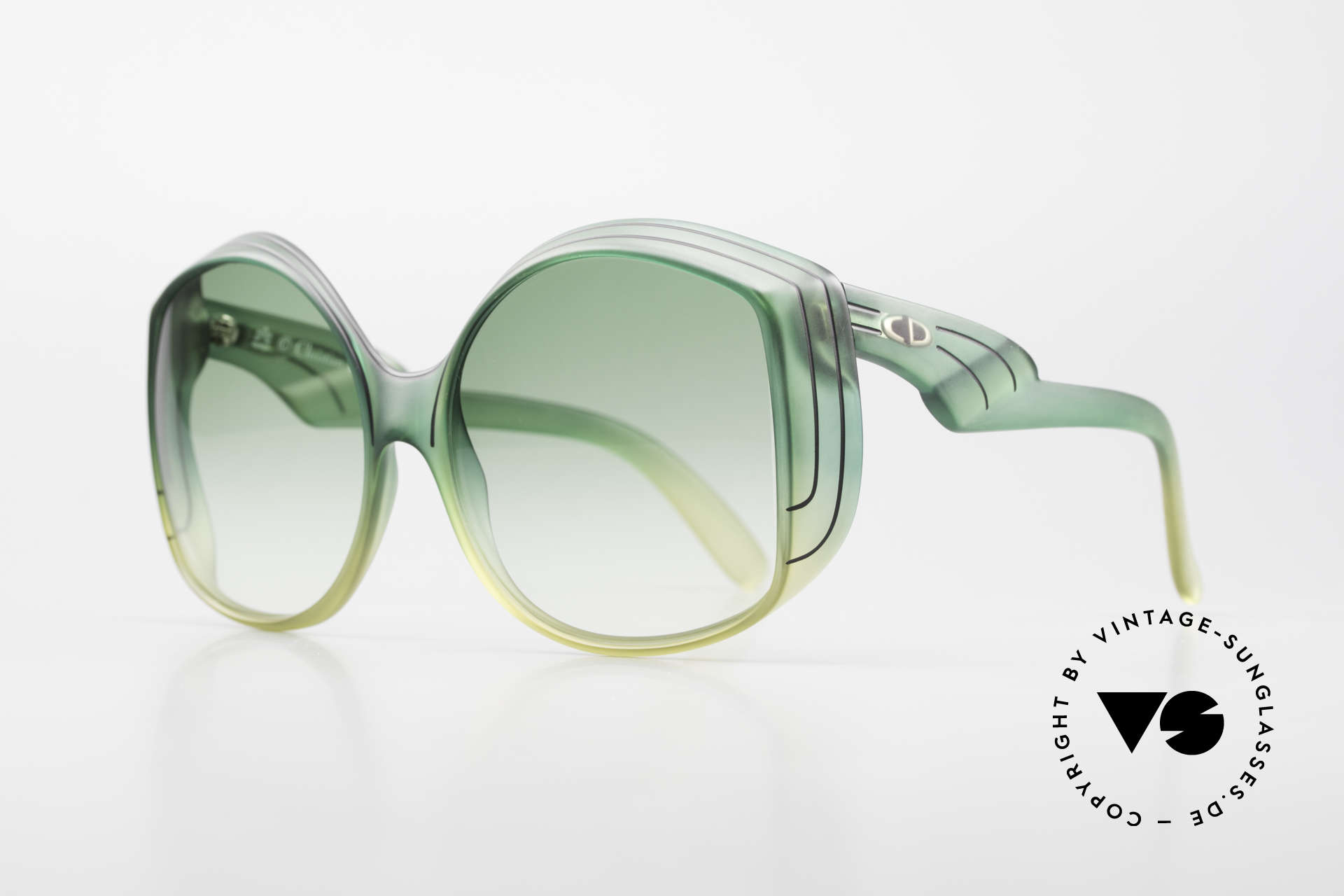 Christian Dior 2041 XXL 1970's Ladies Sunglasses, a real vintage rarity; one of a kind; a true eye-catcher!, Made for Women