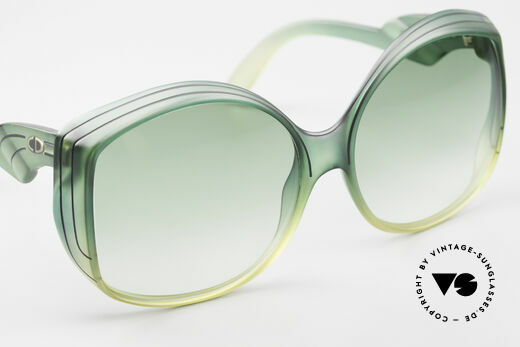 Christian Dior 2041 XXL 1970's Ladies Sunglasses, typical coloring for the 1970's fashion, TRUE VINTAGE!, Made for Women