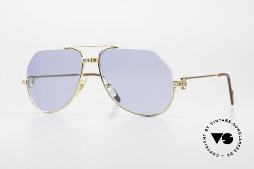 Cartier Vendome Santos - S One Of A Kind Nylor And Gold Details