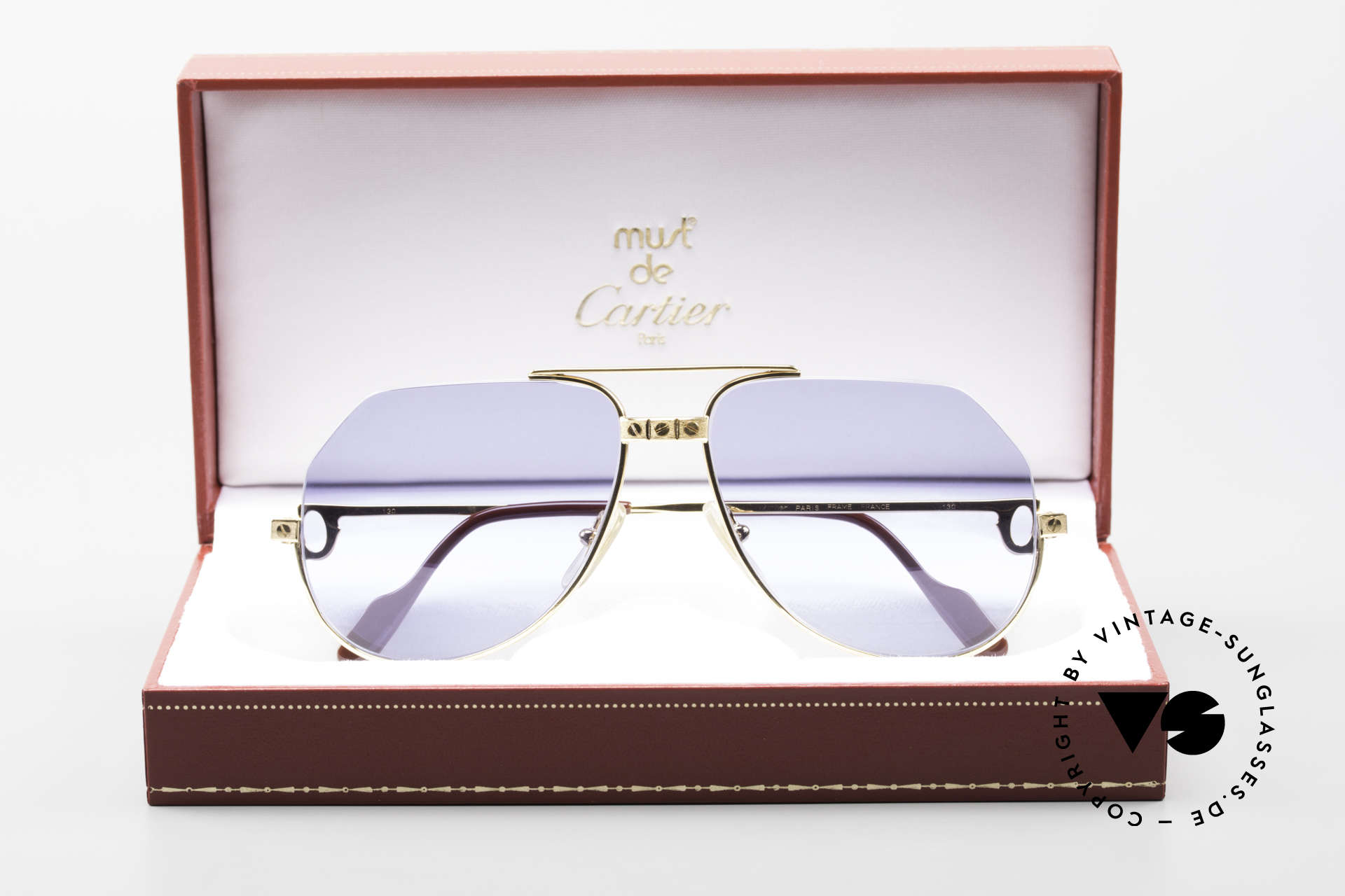 Cartier Vendome Santos - S One Of A Kind Nylor And Gold, Size: medium, Made for Men