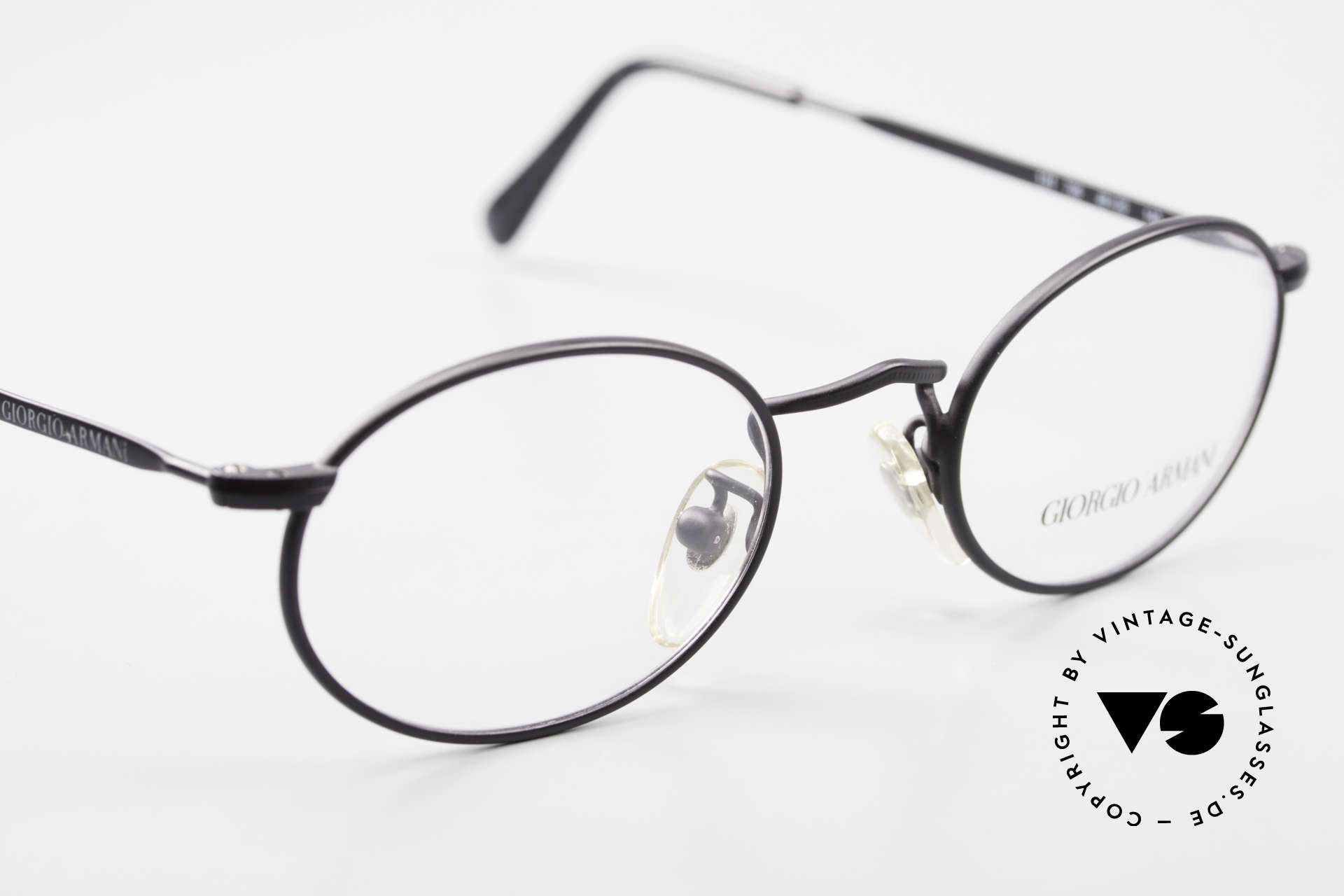 Giorgio Armani 131 Vintage Eyeglasses Oval Frame, NO RETRO EYEWEAR, but a 30 years old ORIGINAL!, Made for Men and Women