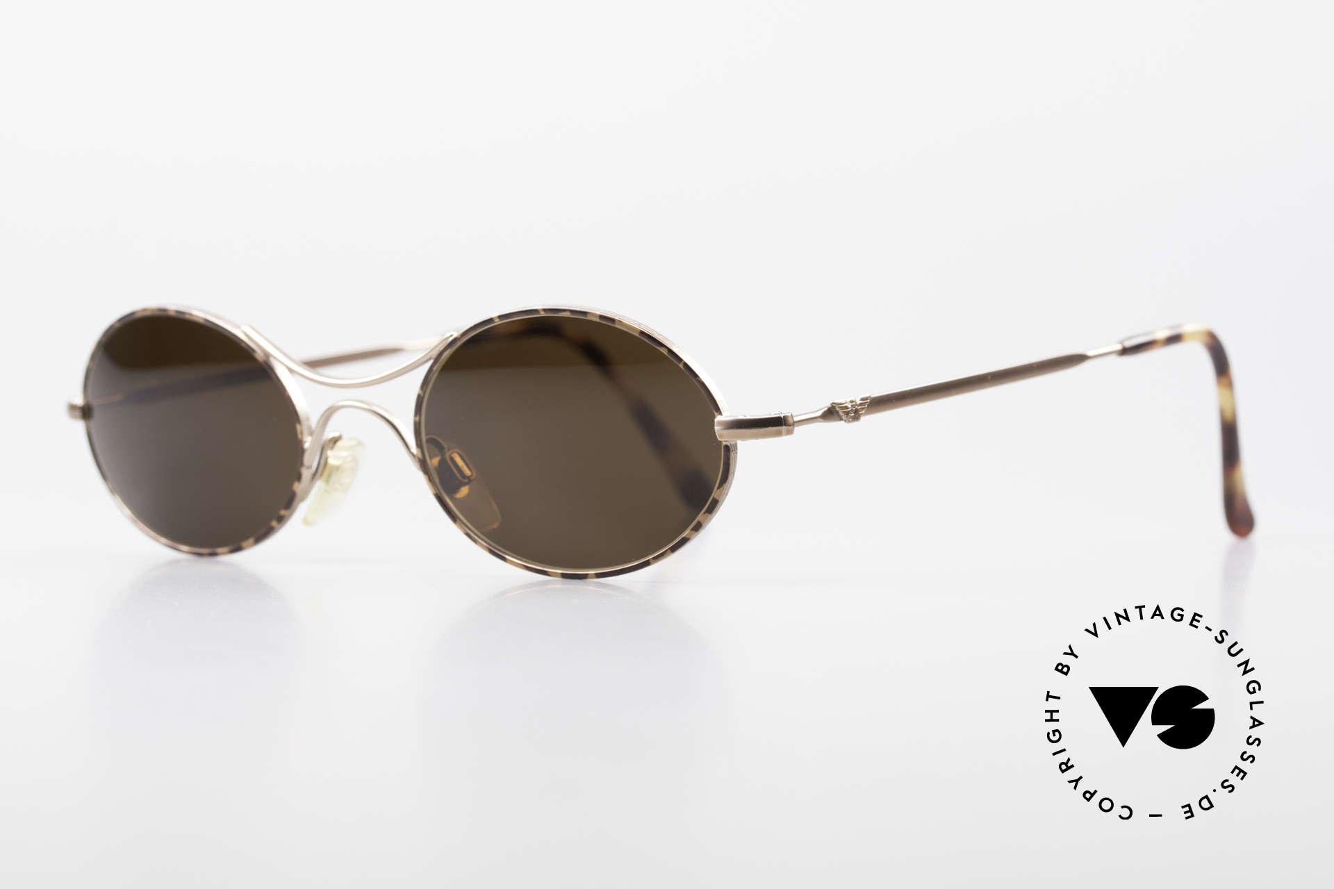 """Giorgio Armani EA044 Successor Mod Schubert Glasses, """"GA 229"""" = the 'Schubert glasses' (Austrian composer), Made for Men and Women"""
