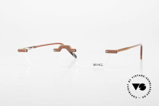 Design Maske Berlin Alpha 8 90's Designer Reading Glasses Details