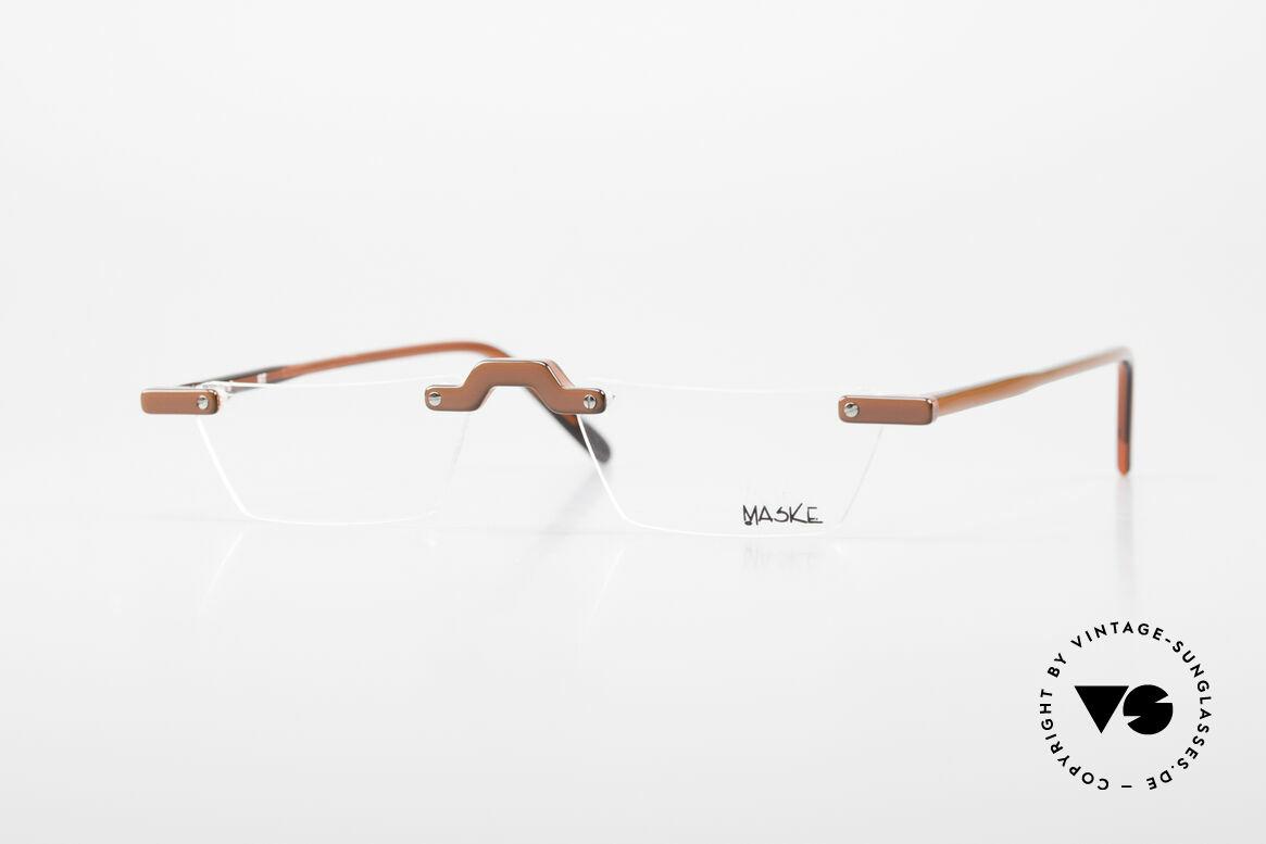 Design Maske Berlin Alpha 8 90's Designer Reading Glasses, Design Maske Berlin: glasses like never seen before, Made for Men and Women