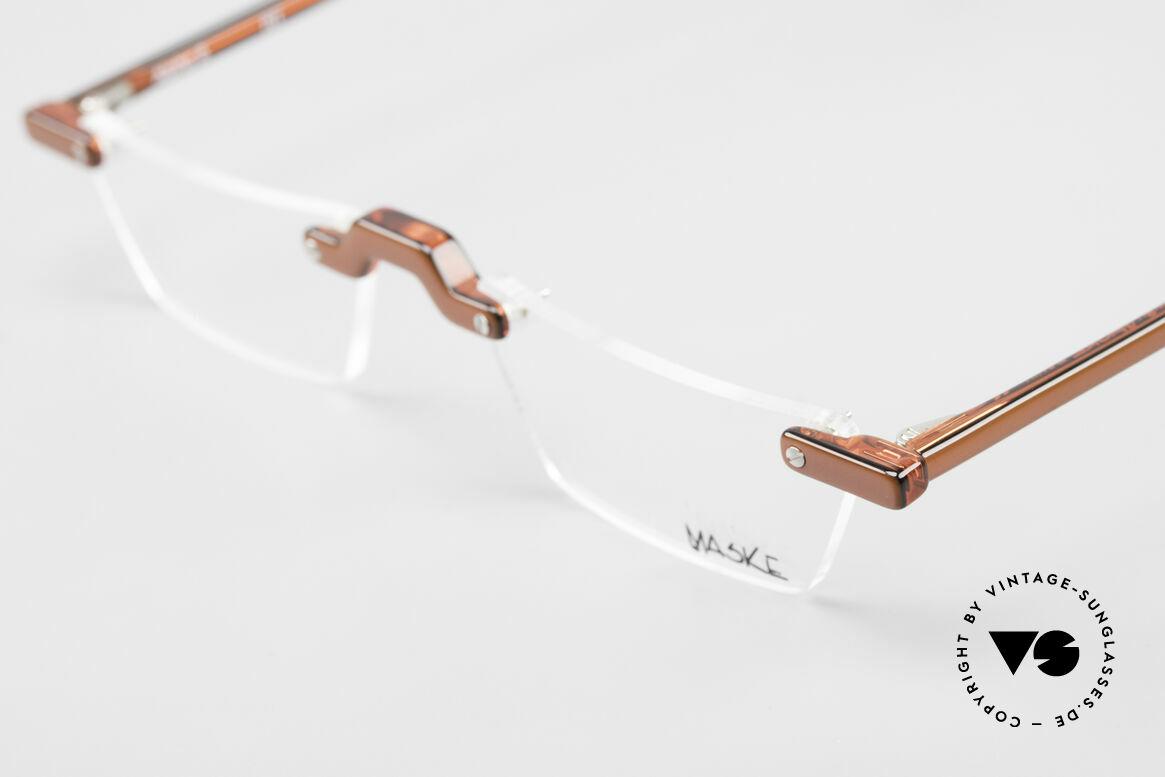 Design Maske Berlin Alpha 8 90's Designer Reading Glasses, limited-lot production from Berlin, collector's item!, Made for Men and Women