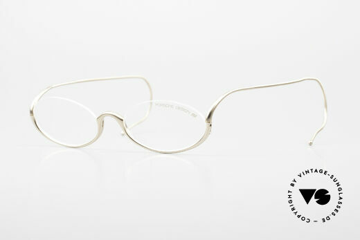 Porsche 5688 Flat Folding Designer Glasses Details