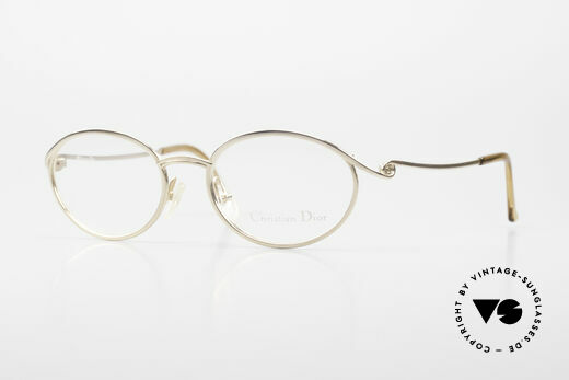 Christian Dior 2939 Ladies 90's Frame Gold Plated Details
