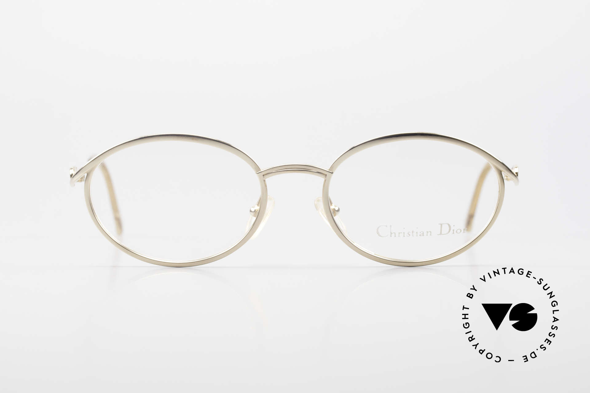 Christian Dior 2939 Ladies 90's Frame Gold Plated, feminine elegant design with orig. demo lenses, Made for Women