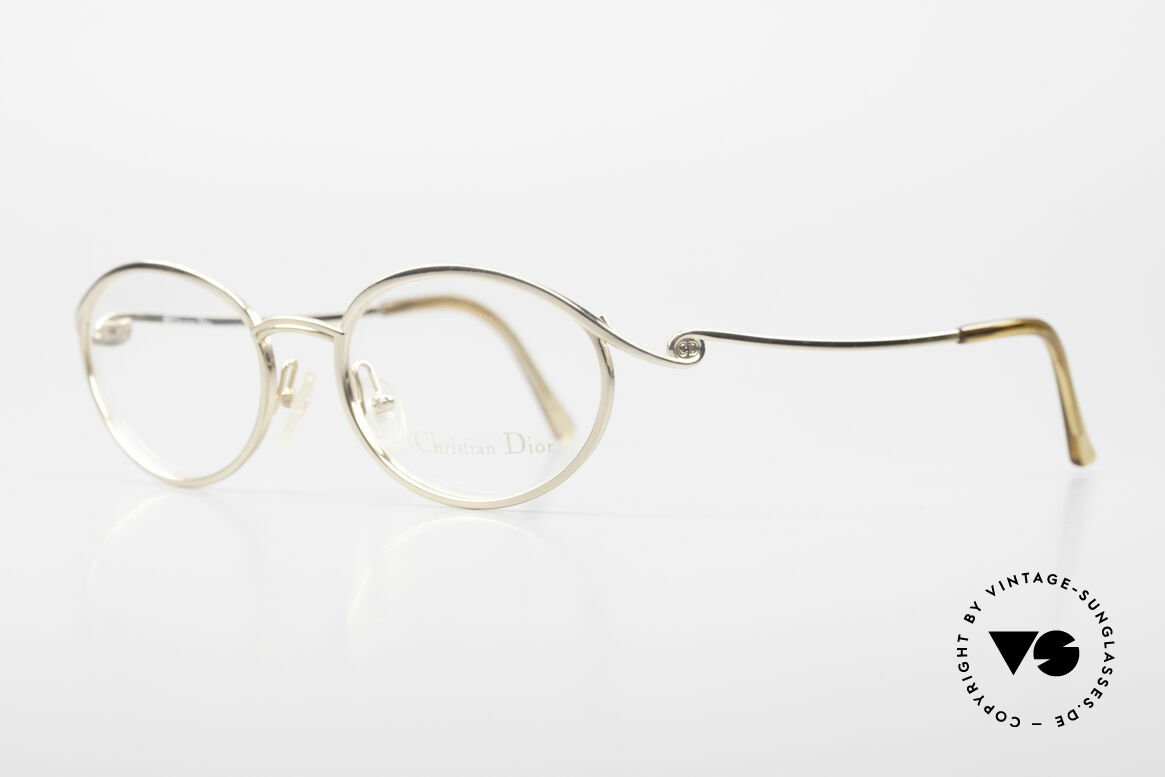 Christian Dior 2939 Ladies 90's Frame Gold Plated, 22ct GOLD-PLATED frame in top-notch quality, Made for Women