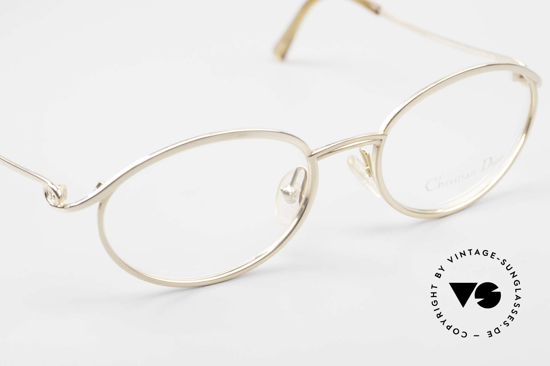 Christian Dior 2939 Ladies 90's Frame Gold Plated, NO RETRO DESIGN, but an old 1990's original, Made for Women