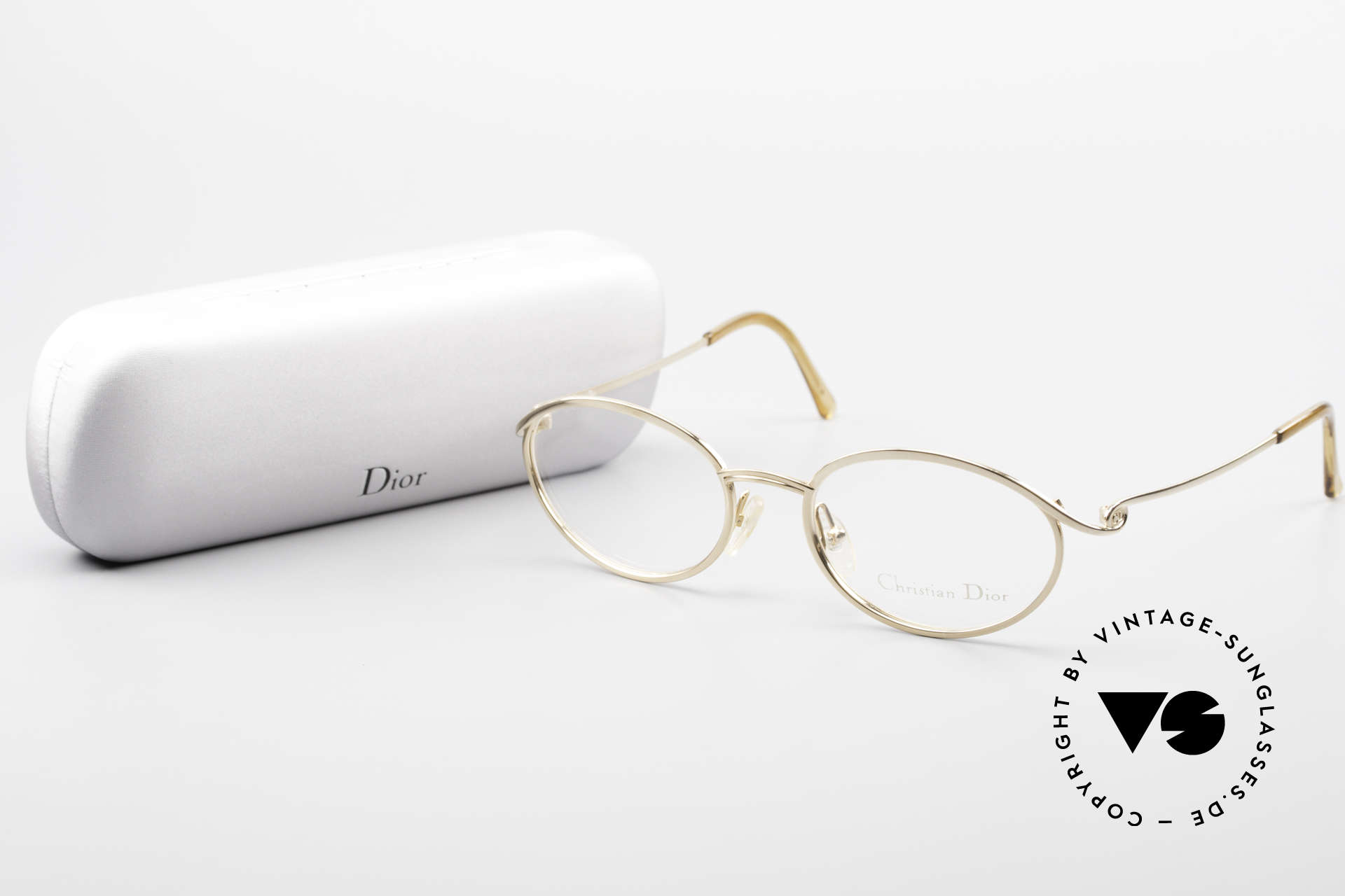 Christian Dior 2939 Ladies 90's Frame Gold Plated, demos can be replaced with lenses of any kind, Made for Women