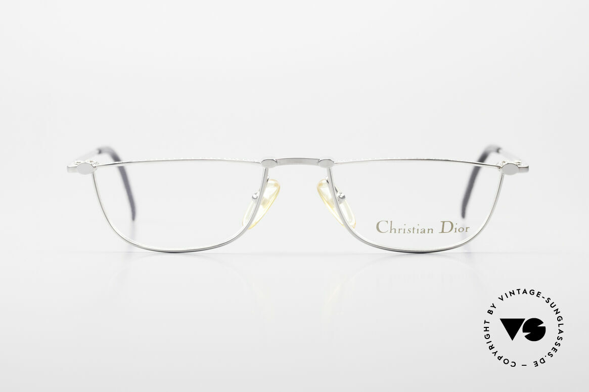Christian Dior 2943 Designer Reading Glasses 90's, distinctive frame design with costly CD engravings, Made for Men and Women