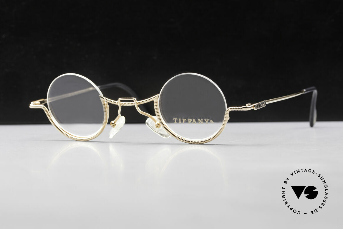Tiffany T64 23K Gold Plated Luxury Frame, amazing Tiffany ladies glasses (23K Gold Plated), Made for Women