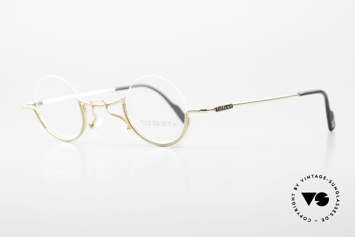 Tiffany T64 23K Gold Plated Luxury Frame, new old stock (like all our RARE VINTAGE frames), Made for Women