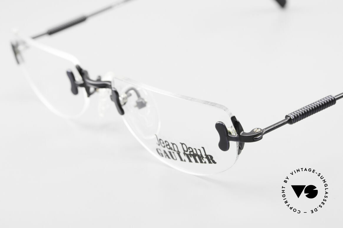 Jean Paul Gaultier 55-0174 Rimless JPG Designer Glasses, NO retro fashion, but a genuine old original from '95, Made for Men and Women