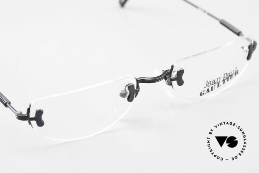 Jean Paul Gaultier 55-0174 Rimless JPG Designer Glasses, demo lenses can be replaced with optical (sun) lenses, Made for Men and Women