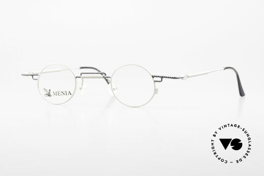 Menia 4012 Round 90s Frame Bauhaus Style Details