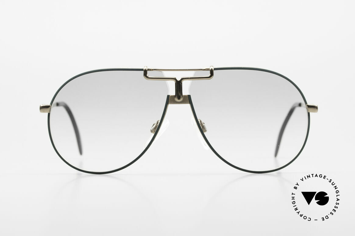 Cazal 731 Titanium Frame West Germany, vintage CAZAL aviator sunglasses from 1986, Made for Men and Women