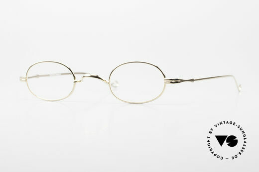 Lunor II 08 Oval Lunor Frame Gold Plated Details