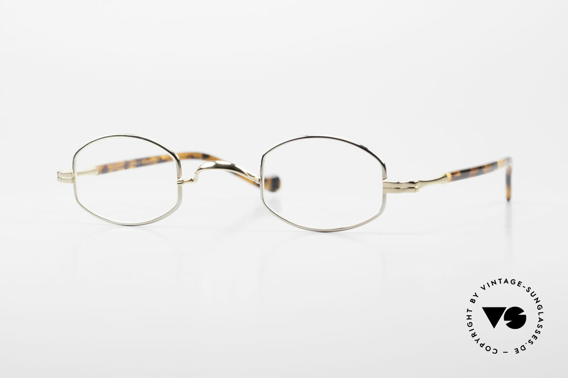 Lunor II A 02 Limited Edition BC Tortoise, very small Lunor glasses in a limited special edition, Made for Men and Women